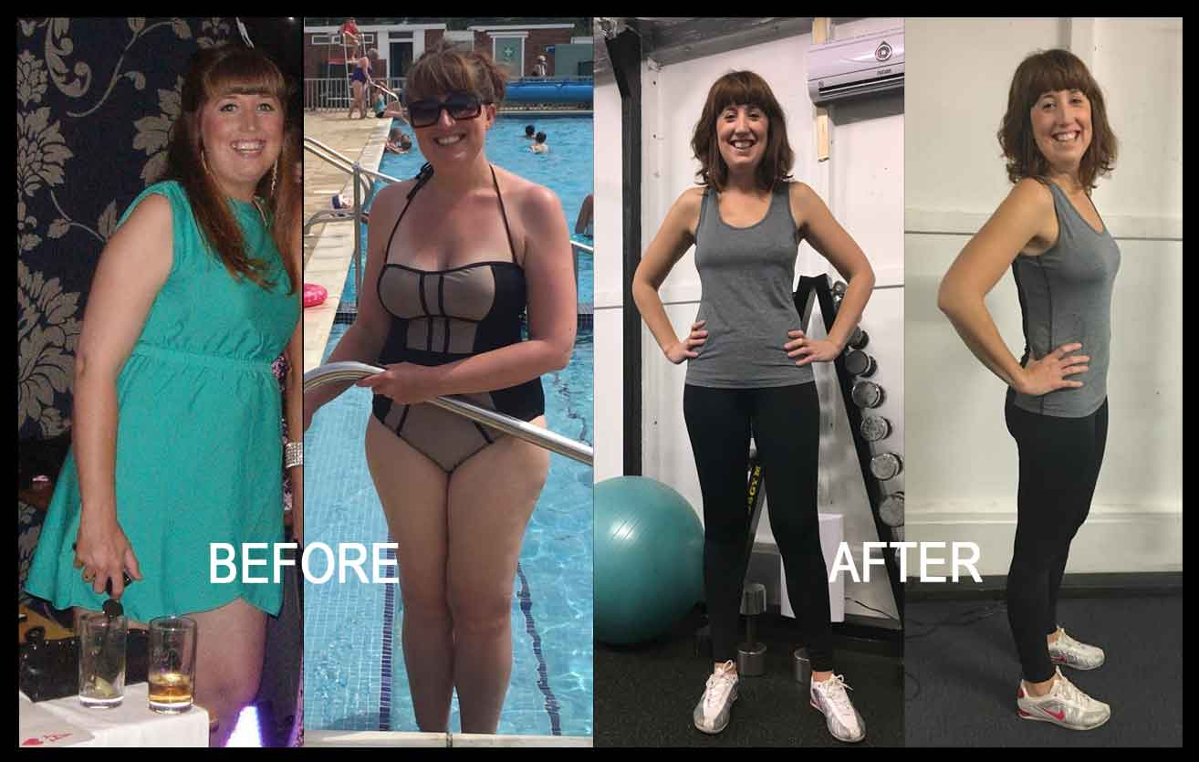 Laura Before and After 3 Week Detox