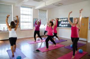 Stretch release core pelvic floor