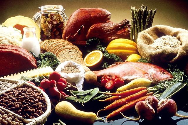 Nutritious Healthy Balanced Healing Foods Diet