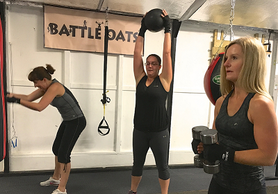 Womens Bootcamp Weight Training Boxing Circuits HIIT
