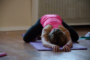 Childs pose body release
