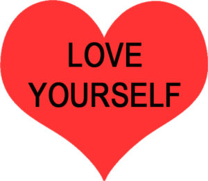 LOVE YOURSELF to lose weight