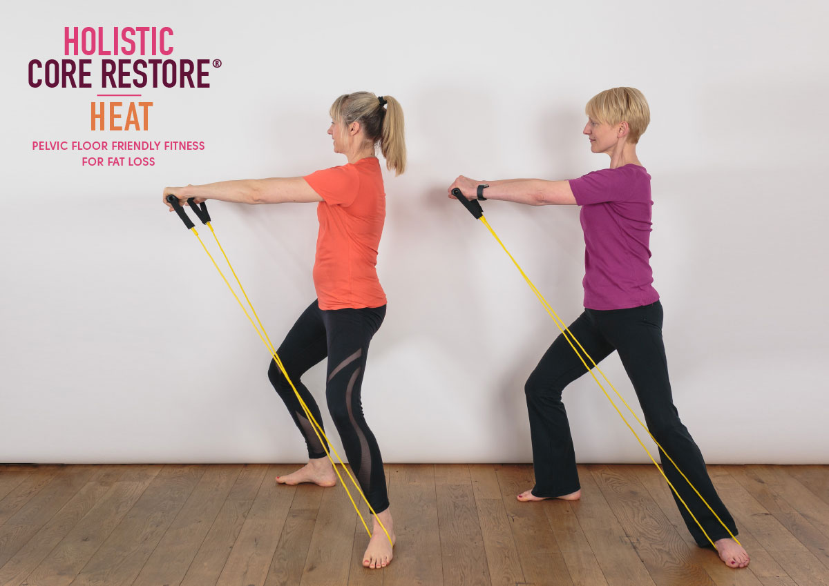 Holistic Core Restore Heat Workout for Fat Loss