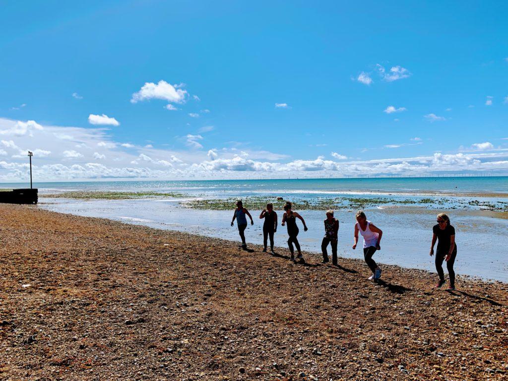 Goring Bootcamp beach