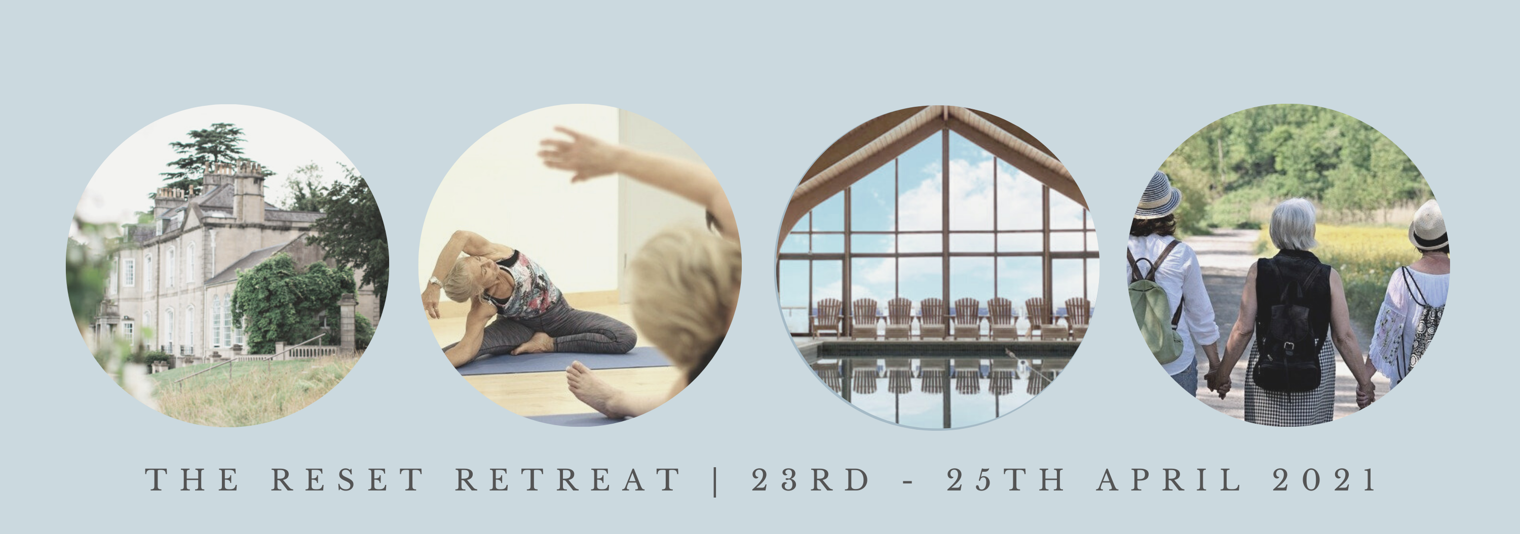 The Reset Retreat banner 2021